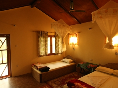 Room with Double bed and single